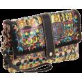 The SAK - The SAK Artist Circle 3-In-1 Clutch Neon One World - Clutch bags - $34.00