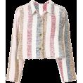lence59 - Thom Browne Bow Collar Striped Jacket - Jaquetas e casacos -