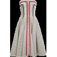 sandra  - Thom Browne Paneled Tweed Jacquard Dress - Dresses -