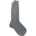 lence59 - Thom Browne ribbed mid-calf socks - 其他 -