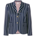 lence59 - Thom Browne striped blazer - Suits -