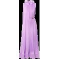 asia12 - Tibi Ruffled plissé-satin midi dress  - Dresses -