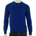 Tommy Hilfiger - Tommy Hilfiger Crew Neck Sweater Blue - Long sleeves shirts - $54.93