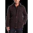 Tommy Hilfiger - Tommy Hilfiger Men's Washed Cotton 4 Pocket Barn Jacket Dark Brown - Jacket - coats - $135.00