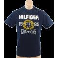 Tommy Hilfiger Majice - kratke -  Tommy Hilfiger Mens Regular Fit Short Sleve T-Shirt Navy blue