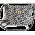 Tommy Hilfiger Hand bag -  Tommy Hilfiger Small Xbody Cross Body Handbag, Black Alpaca