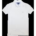 Tommy Hilfiger Majice - kratke -  Tommy Hilfiger Women Classic Fit Logo Polo T-Shirt White