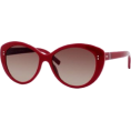 Tommy Hilfiger - Tommy Hilfiger Women's TH1084S Cat Eye Sunglasses,Red Frame/Brown Gradient Lens,One Size - Sunglasses - $130.91