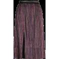 Aurora  - Topshop Midi Glitter Skirt - Skirts -