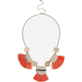 DotingSage - Topshop Tassel and Shape Collar Necklace - Necklaces - £16.50  ~ $21.71