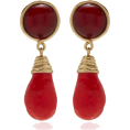 Georgine Dagher - Tory Burch Drop Stone Earrings - Naušnice -