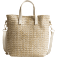 fshionme - Travel Vacation Leisure Straw Tote Bag - Hand bag - $20.99