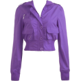 Marija Jevtić - Violet jacket - Jacket - coats -