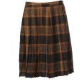 UNITED ARROWS(ユナイテッドアローズ - UA W/N CHK PLEATS 54 - Skirts - ¥10,200  ~ $103.77