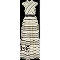 HalfMoonRun - ULLA JOHNSON stiped dress - sukienki -