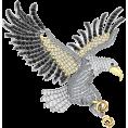 Pokrovsky - Серебряная брошь UNISEX Орлан - Other jewelry - $89.21