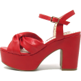 amethystsky - Ursula Red - Wedges - $79.00