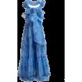 beautifulplace - VALENTINO  Ruffled silk-organza gown - Obleke -