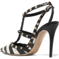 JecaKNS - Valentino The Rockstud striped pumps - Sandale -