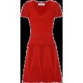sandra  - Valentino red dress - Obleke -