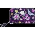 Vera Bradley - Vera Bradley Turn Lock Wallet Floral Nightingale - Portfele - $42.99  ~ 32.46€