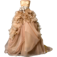 Lady Di ♕  - Wedding dresses Beige - Wedding dresses -