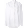 lence59 - Victoria Beckham mandarin neck shift - Long sleeves shirts -