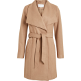 Aurora  - Vila Wool Brown Coat - Jacket - coats -