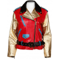 LaDomna  - Vintage Moschino leather jacket - Jacket - coats -