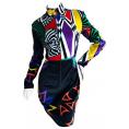 LaDomna  - Vintage Versace dress - Obleke -