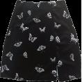FECLOTHING - Vintage cool wind skirt velvet skirt - Skirts - $19.99