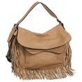 Vitalio Vera - Vitalio Vera Anaya Fringe Crossbody Convt Big Hobo Handbag - Hand bag - $68.00