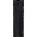 FECLOTHING - V-neck multi-buckle side slit dress - Dresses - $25.99