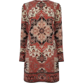 sandra  - Warehouse tapestry shift dress - Dresses -