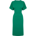 sandra  - Warehouse teal dress - Dresses -