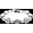 Bev Martin - White Pearl Sterling Silver Bracelet - Bransoletka -