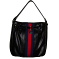 Tommy Hilfiger - Women's Tommy Hilfiger Bucket Tote Handbag (Black/Navy/Red) - Bolsas pequenas - $75.00  ~ 64.42€