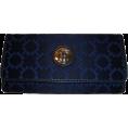 Tommy Hilfiger - Women's Tommy Hilfiger Continental Checkbook Wallet (Navy) - Denarnice - $48.00  ~ 41.23€