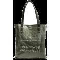 svijetlana2 - Women Large Capacity Kraft Paper Tote Ba - Poštarske torbe -
