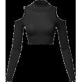 ByPlatonida - Women's Junior Fit Cut Sexy Plain Turtle - Long sleeves t-shirts -