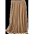 beautifulplace - Wool mixed pleat skirt - Skirts -