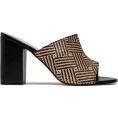 cilita  -  Woven raffia mules - Классическая обувь -