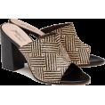 cilita  -  Woven raffia mules - Classic shoes & Pumps -