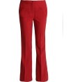 Mees Malanaphy - YAS - Red Trousers - Capri & Cropped - $48.00