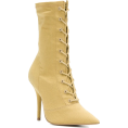 Georgine Dagher - YEEZY Season 6 lace-up ankle boots - Boots -