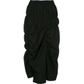 JecaKNS - Y'S pencil ruched skirt - Skirts -