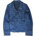 HalfMoonRun - YVES SAINT-LAURENT denim jacket - Jakne in plašči -
