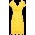Viktoria Jurica - Yellow dress - Vestidos -