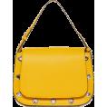 LedaTrend - Yellow shoulder bag - Hand bag - 34.00€  ~ $39.59