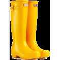 octobermaze  - Yellow Wellington Boots - Boots -